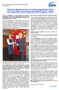 Interview Ramona Egetenmaier Jahrgangsbeste 2018