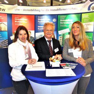 Mitarbeiter der gtw MIM 2018 Münchner Immobilien Messe